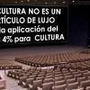 Por la aplicación del IVA super-reducido para la Cultura al 4% en España