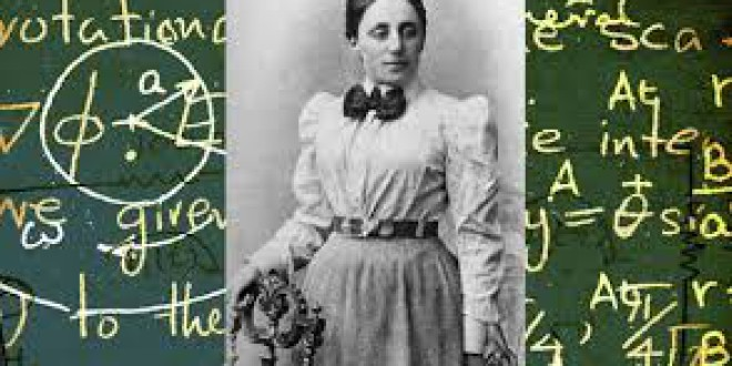 Emmy Noether, la mujer más importante en la historia de las matemáticas