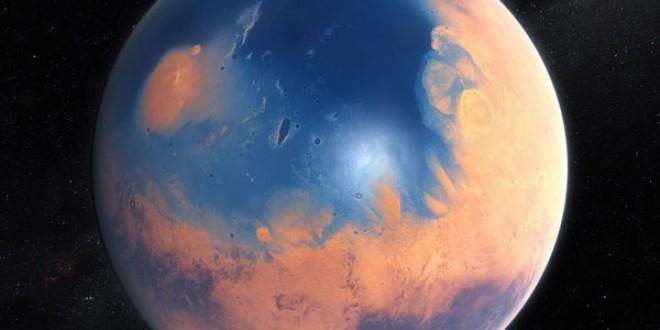 Marte tenía un océano más grande que el Atlántico
