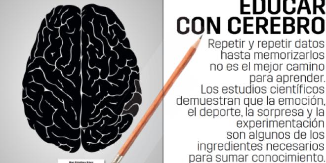 «Neuroeducación, o cómo educar con cerebro»  por Diego San Juan
