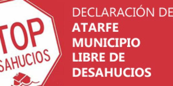 Declaración de Atarfe MUNICIPIO LIBRE DE DESAHUCIOS