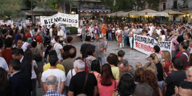 Granada pide solidaridad y justicia con los refugiados que llegan de Europa