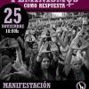 """25N MANIFESTACIÓN A LAS 18H  EN GRANADA:  """"PACTO DE ESTADO"""" CONTRA EL TERRORISMO MACHISTA"""