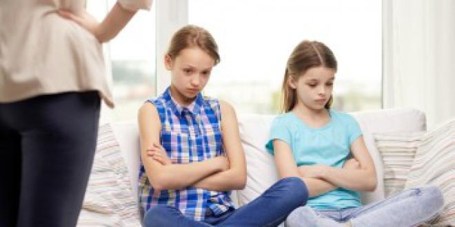 La desobediencia en los niños entre los 6 y los 12 años
