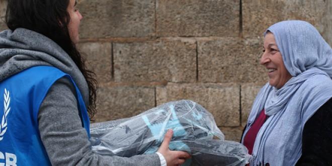 ACNUR pone en marcha una operación para proteger a los refugiados sirios este invierno