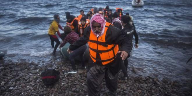 La llegada de migrantes irregulares a Europa supera el millón en 2015