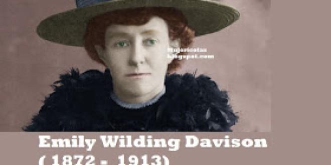Emily Wilding Davison. Morir por Defender los Derechos de las Mujeres