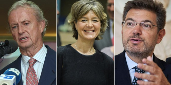 Pedro Morenés, Isabel García Tejerina y Rafael Catalá ¿donde está la transparencia?