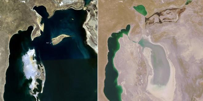 Desaparece el Mar de Aral, el cuarto lago más grande del planeta