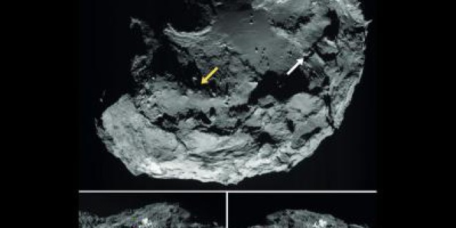 Confirmado: el cometa que orbita Rosetta tiene agua helada