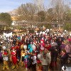Éxito de participación escolar en la semana por el Día de la Paz