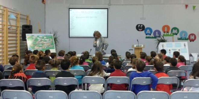 Colegios de Atarfe, Albolote, Cijuela y Calicasas se benefician del programa de Aqualogía de Aguasvira