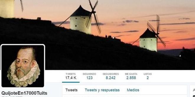 El Quijote, tuit a tuit