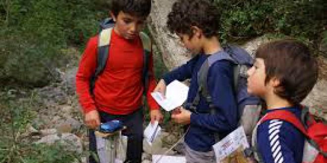 El CEIP ATALAYA  de Atarfe participa en el deporte escolar de orientación