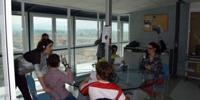Campaña del colegio Clara Campoamor para la recogida de residuos electrónicos