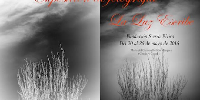 Exposición fotográfica: «La Luz Escribe»