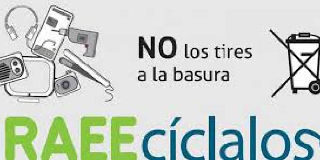 EL CEIP CLARA CAMPOAMOR POR LA RECUPERACIÓN DE RESIDUOS ELECTRICOS Y ELECTRÓNICOS