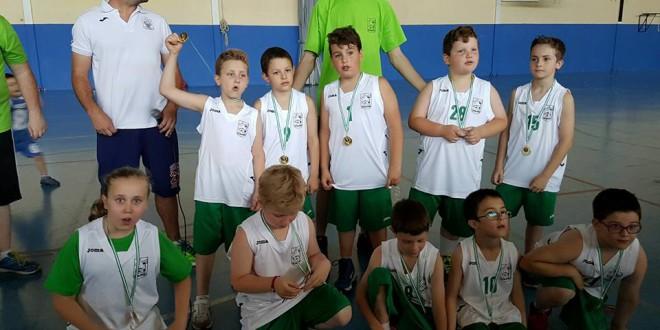 ATARFE: Los benjamines del CAB ATARFE se proclama campeón  de la Copa Juegos Deportivos Municipales