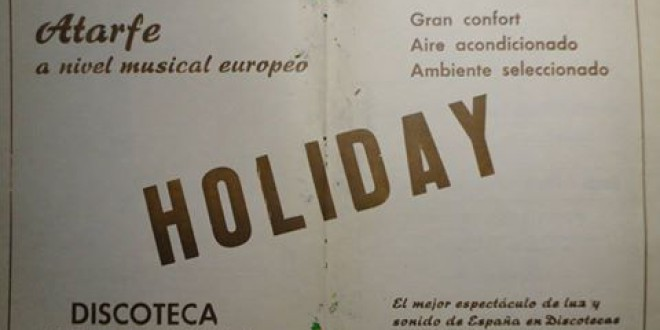 1976 HOLIDAY, DISCOTECA DE ATARFE.