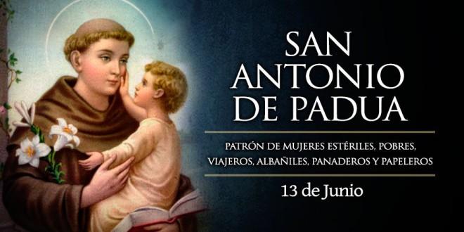«SAN ANTONIO BENDITO»  Por Juan Alfredo Bellón