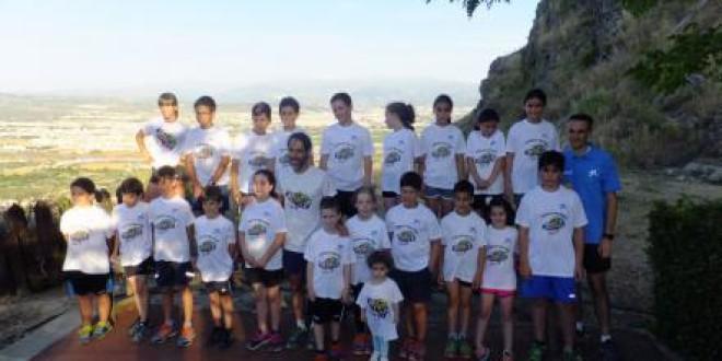 Éxito de participación en la primera temporada de la escuela de trial de Atarfe