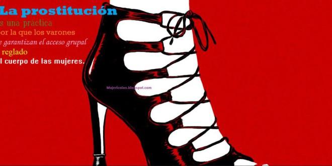La prostitución,escuela de desigualdad humana