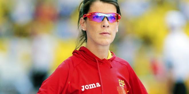 Ruth Beitia hace historia en el atletismo europeo, pero no ocupa ni una portada