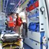Cuatro heridos tras la colisión entre un turismo y un camión en Sierra Elvira