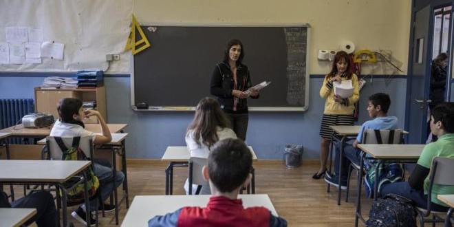 ¿Cómo creen los profesores que será la educación dentro de cinco años?