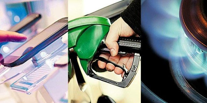 Gas, carburantes y 'telecos' subirán sus precios alrededor del 3% en 2017