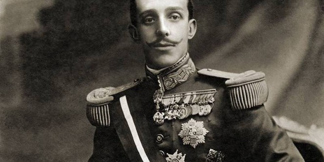 «Alfonso XIII en Granada»