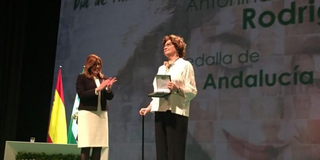 ANTONINA RODRIGO MEDALLA DE ANDALUCIA