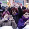 La Delegación del Gobierno en la Comunidad de Madrid ha multado a la Plataforma Feminista 7N contra las Violencias Machistas en aplicación de la 'Ley Mordaza'.