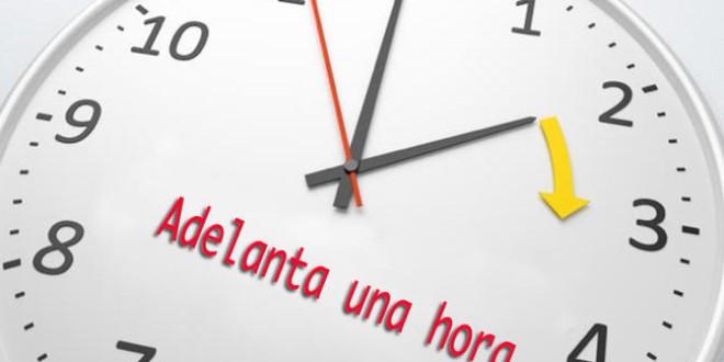 Historia del reloj adelantado en Europa occidental