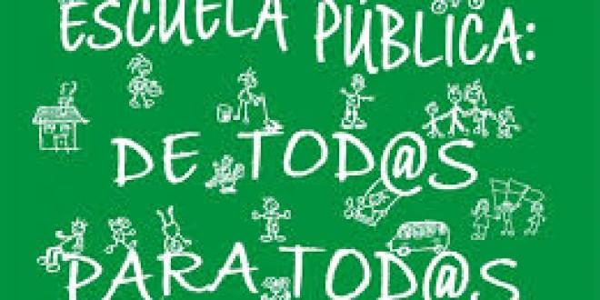 «Elogio de la escuela pública» por Miguel Angel Santos Guerra