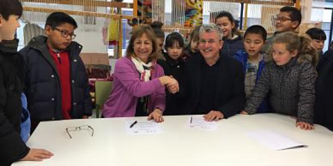 La Escuela de Arte de Granada EAG y el CEIP San José firman un Acuerdo de Colaboración