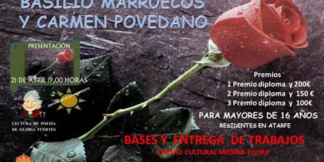II Certamen de Poesía en homenaje a Basilio Marruecos y Carmen Povedano