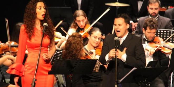 La Orquesta Sinfónica CIUDAD DE ATARFE (OSCA) triunfa en Almuñecar