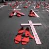 Es urgente iniciar acciones drásticas para detener el feminicidio y la trata.