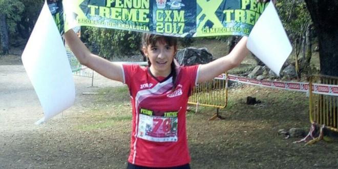 Carolina Peula fue la primera mujer campeona de Andalucía de Carreras por Montaña.
