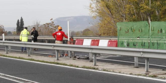 El Puente de los Vados estará cerrado tres semanas dirección Granada para ejecutar obras preventivas
