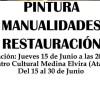 ATARFE: EXPOSICIÓN DE PINTURA, MANUALIDADES Y RESTAURACIÓN