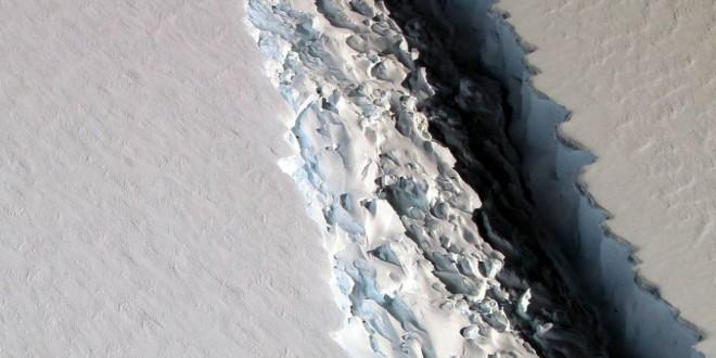 La Antártida se divide en icebergs gigantes: el principio del fin
