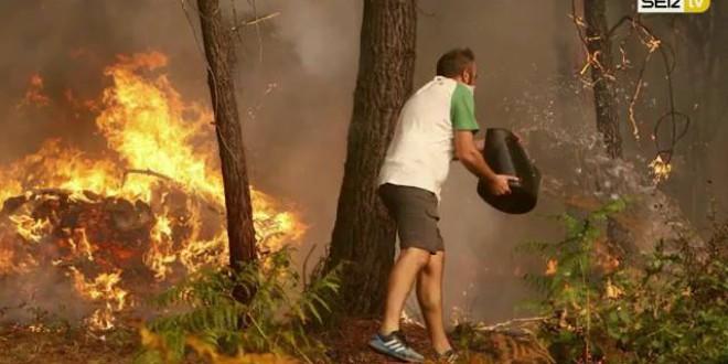 «El monte no se suicida solo»por Toni Garrido
