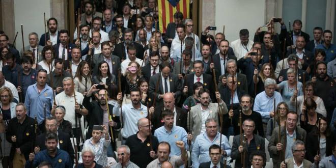 El separatismo tiene a punto un Parlamento alternativo