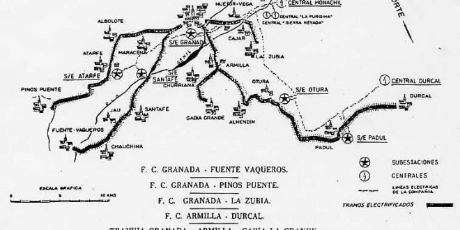 «LOS TRANVÍAS ELÉCTRICOS DE GRANADA» por Jose Enrique Granados