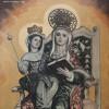 Foto al óleo de Santa Ana del Ayuntamiento de Atarfe