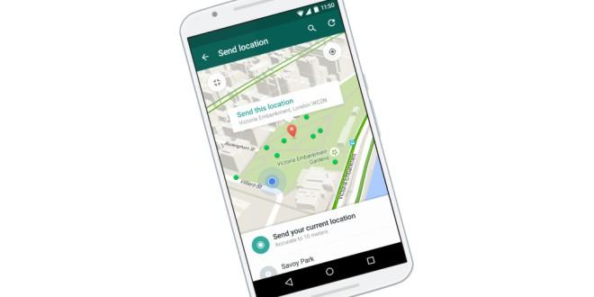 O  Whatsapp ya permite conocer la ubicación de tus contactos a tiempo real