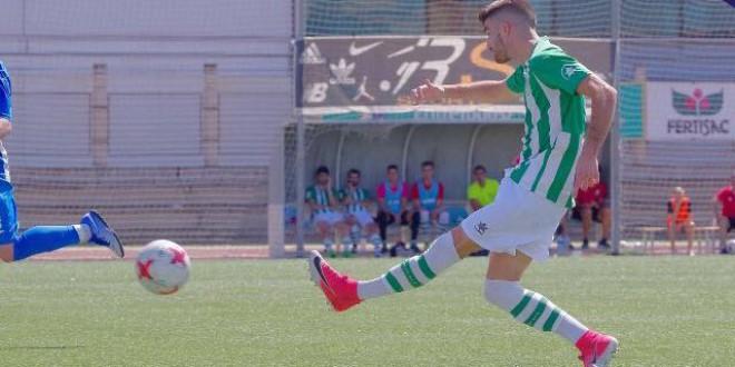 Nuestro capitán del equipo de Tercera División MARCOS TORO, seleccionado para la Selección Andaluza de Fútbol.