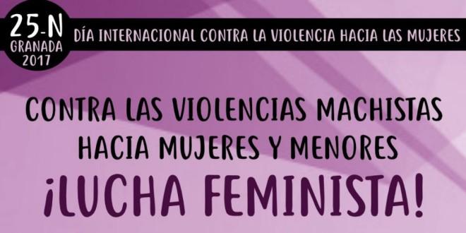 DÍA INTERNACIONAL CONTRA LAS VIOLENCIAS MACHISTAS